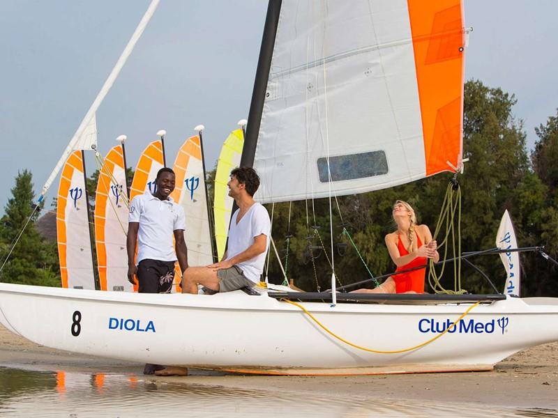 De nombreuses activités nautiques vous attendent au Club Med