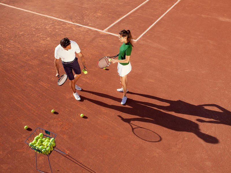 Le court de tennis du Club Med Da Balaia au Portugal