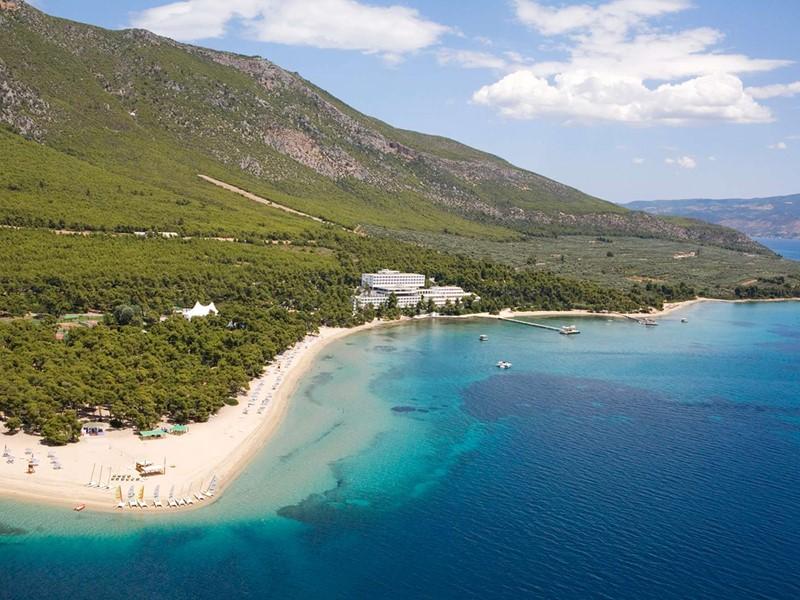 Vue aérienne du Club Med, situé dans un environnement exceptionnel
