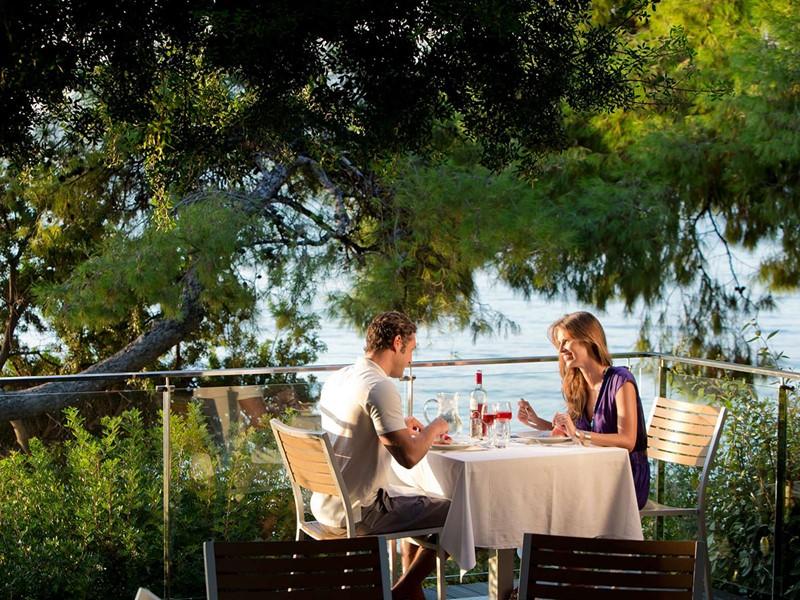 Le restaurant The Pleiades du Club Med Gregolimano
