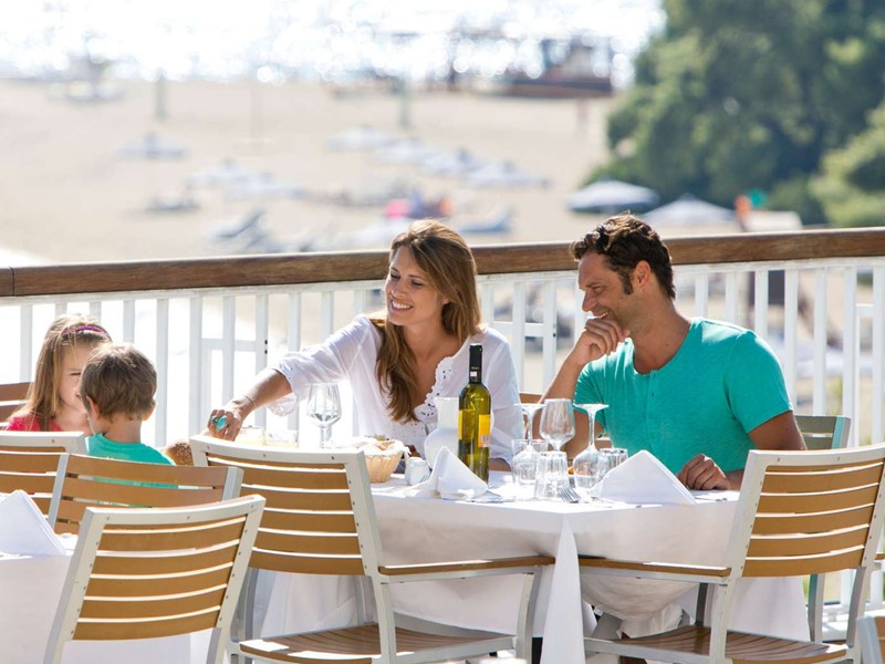 Specialités méditerranéennes au restaurant The Panorama du Club Med