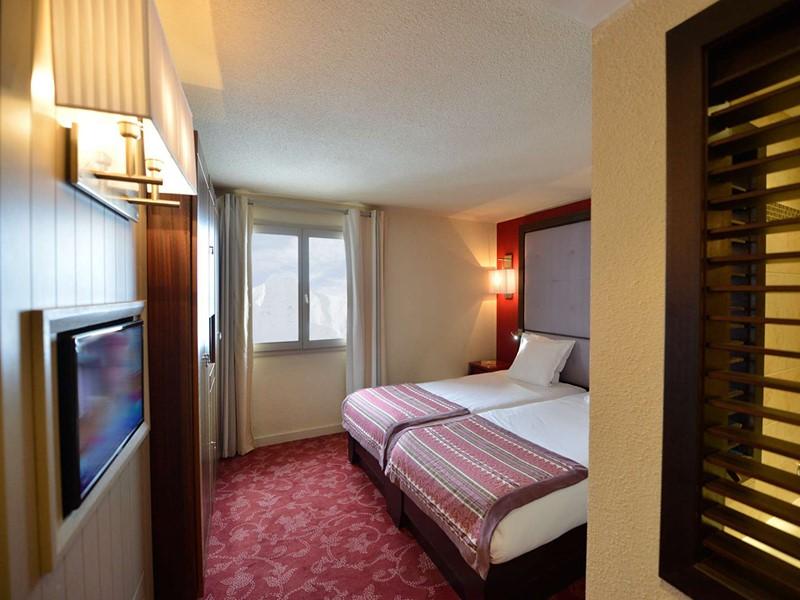 Chambre Club Vue Mont Blanc du Club Med La Plagne 2100