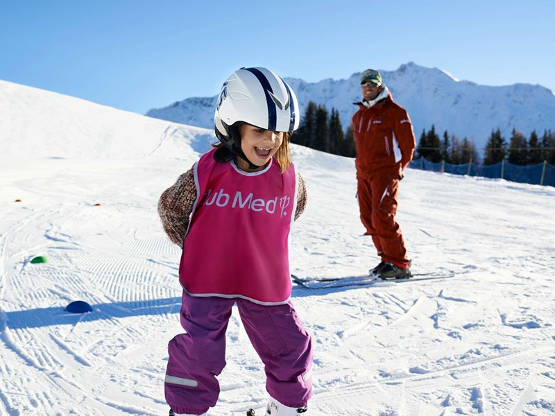 Le Club Med La Plagne 2100 est un paradis pour les petits