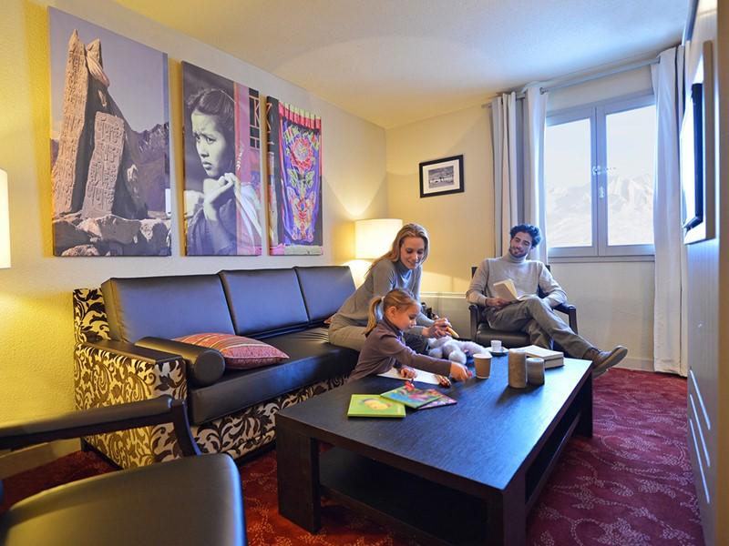 Suite Vue Vallée du Club Med La Plagne 2100