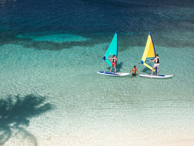 Profitez des nombreuses activités nautiques du Club Med