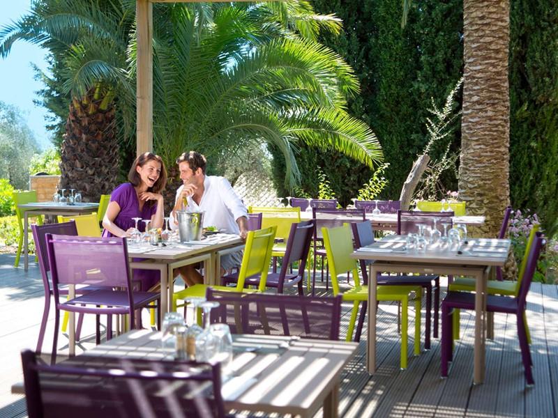 Le restaurant Le Golf du Club Med Opio en Provence