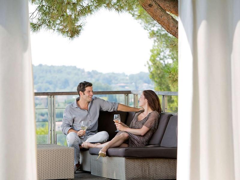Moment en toute intimité au Club Med Opio en Provence