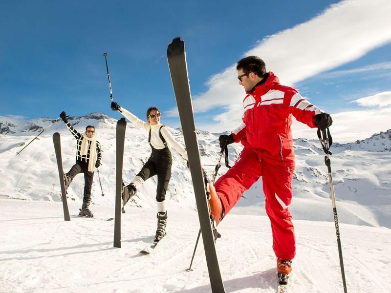 Amusez-vous en famille sur les pistes de ski