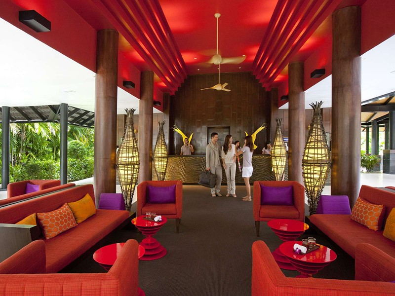 Le lobby du Club Med Phuket situé en Thailande