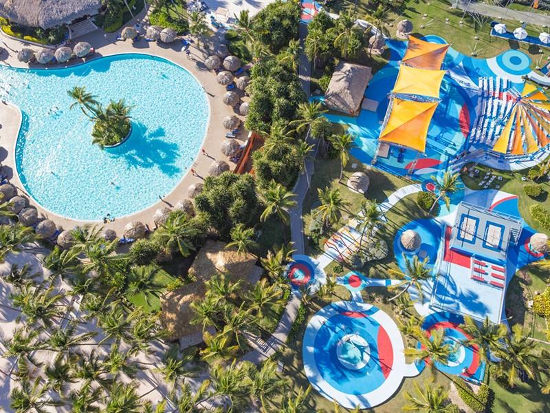 Vue du Club Med Punta Cana, un paradis au coeur des Caraïbes