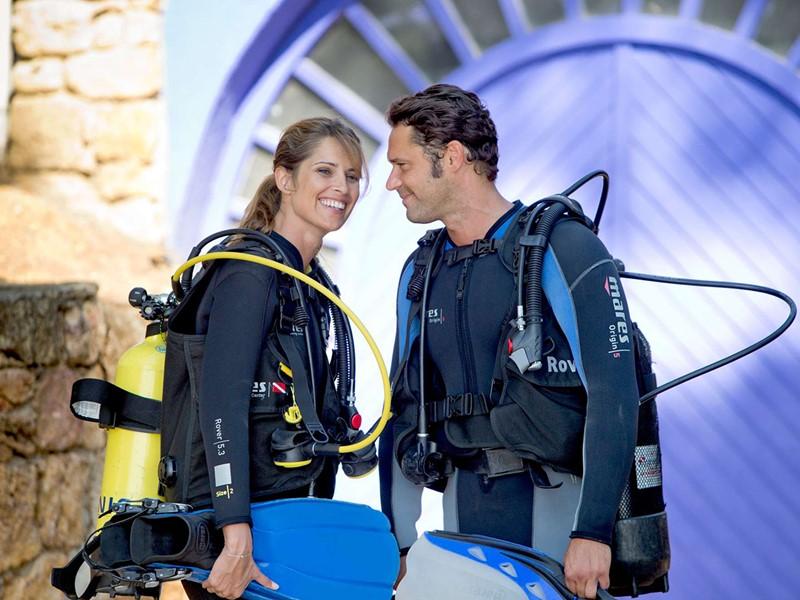 Le Club Med Turquoise est un paradis pour les plongeurs