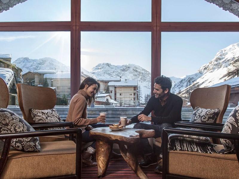 Réchauffez vous au Club Med Val d'Isère - Le Refuge
