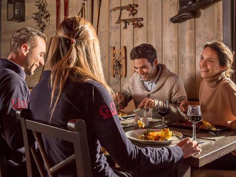 Le restaurant La Bellevarde du Club Med Val d'Isère