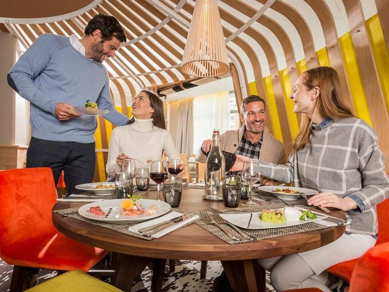Spécialités françaises et internationales au restaurant du Club Med