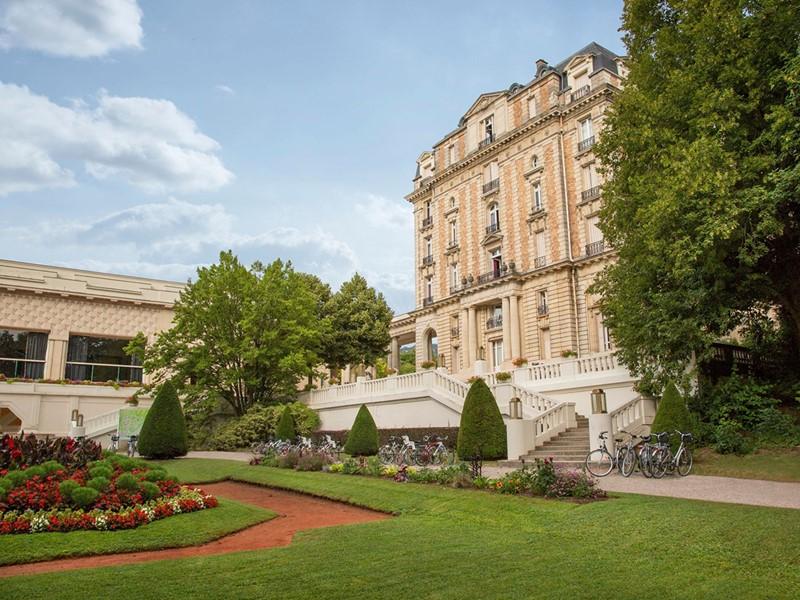 Vue du Club Med Vittel Le Parc, situé au coeur des Vosges
