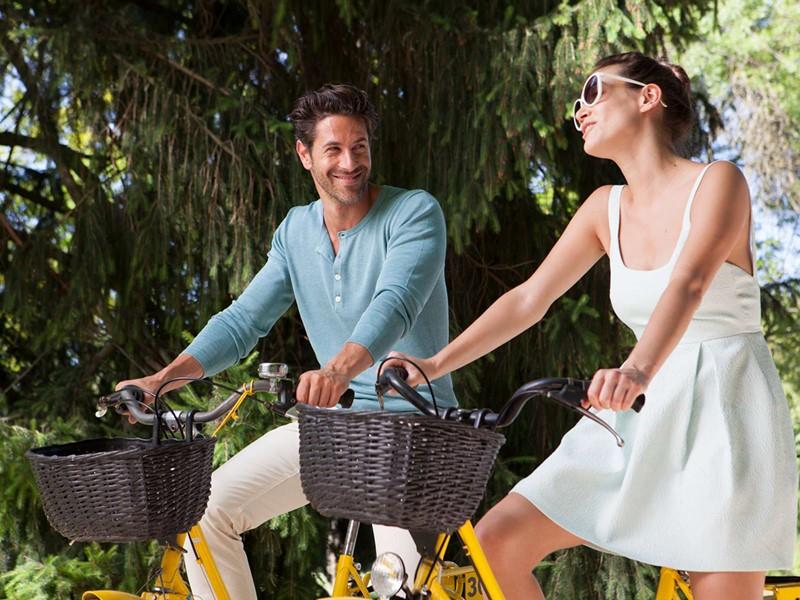 Balade à vélo au Club Med Vittel Le Parc en France