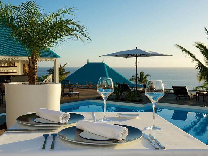 Restaurant du Blue Margouillat Seaview Hôtel