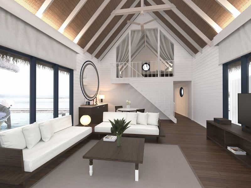 Dhoni Loft Water Villa