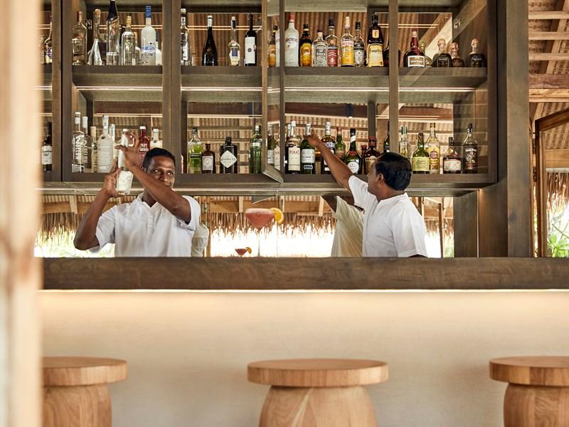 Délicieux cocktails au bar Faru