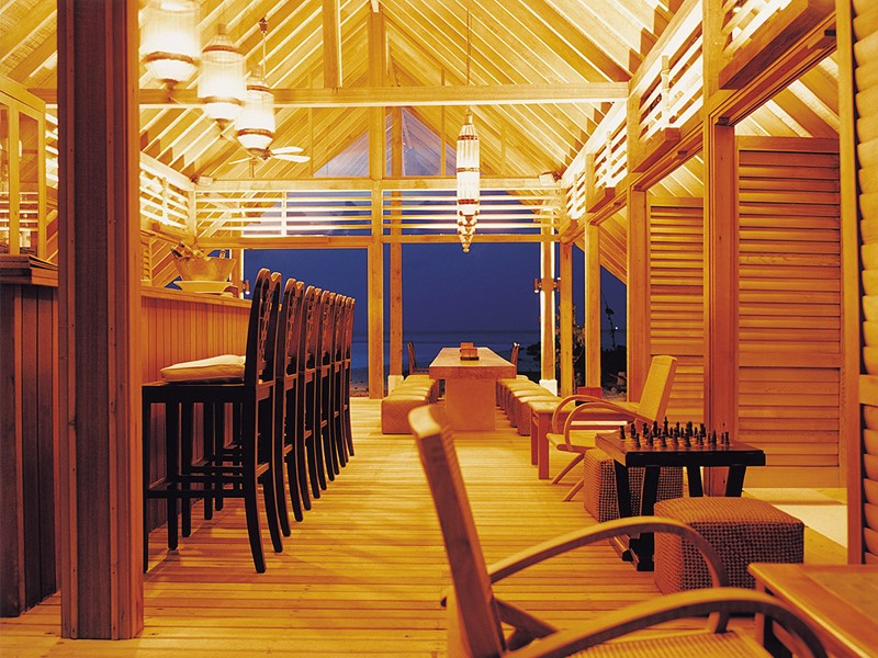 Le bar Faru du COMO Cocoa Island