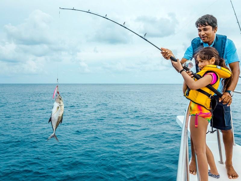 Séance de pêche