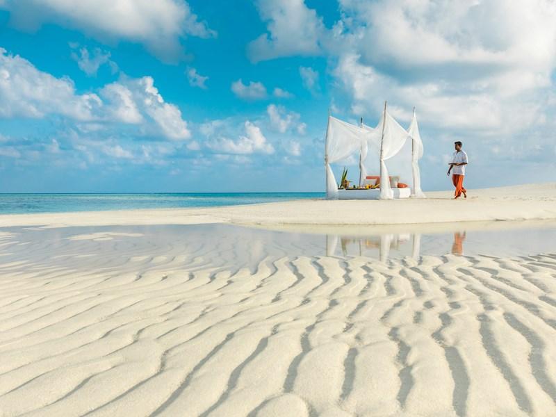 Pique niquez sur la belle plage