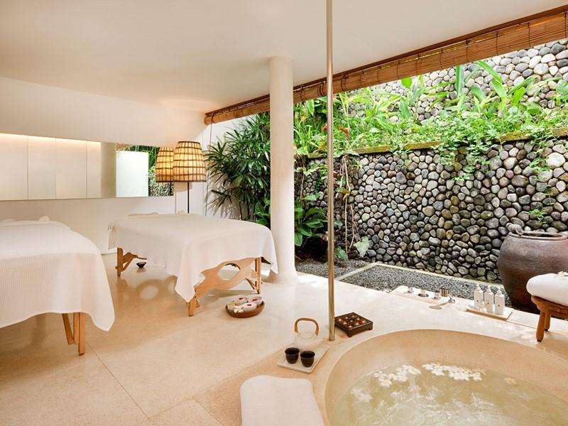 Le spa de l'hôtel 4 étoiles Uma by Como à Bali