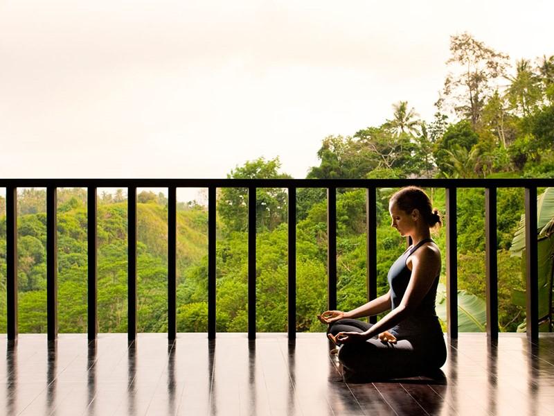 Méditation à l'hôtel Uma by Como à Bali