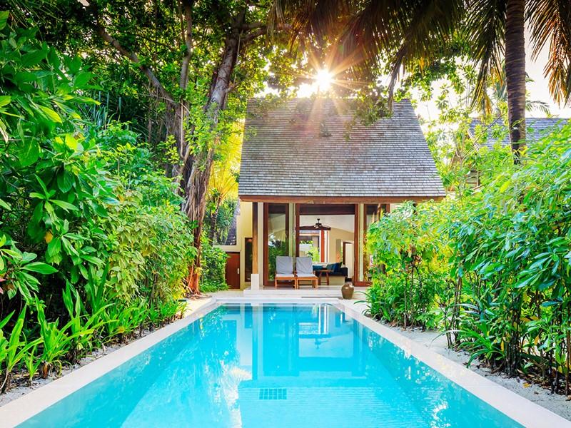 Deluxe Beach Villa du Conrad Maldives Rangali Island
