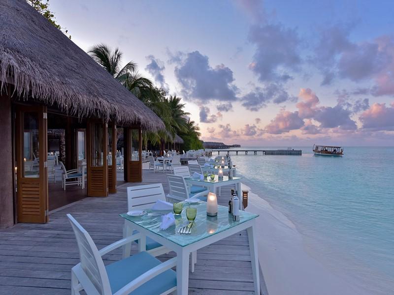 Le restaurant Vilu du Conrad Maldives Rangali Island