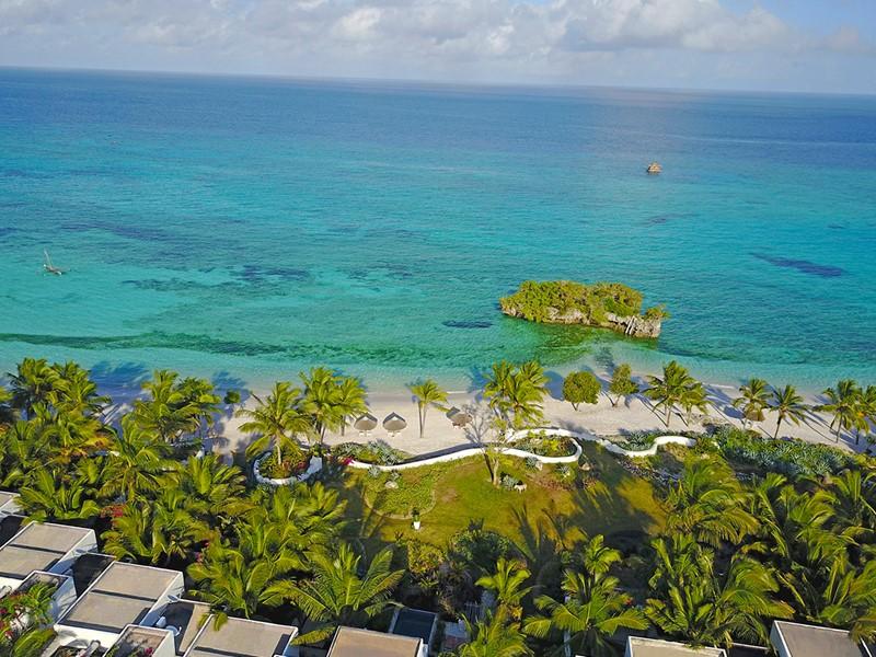 Le Constance Aiyana est situé au nord de la très exclusive île de Pemba