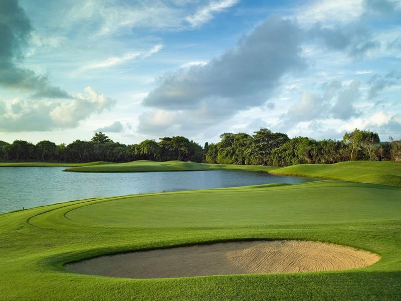Magnifique parcours de golf