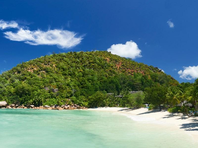 Vue panoramique sur la plage