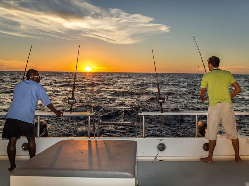Pêche à l'hôtel Constance situé sur l'île de Tsarabanjina