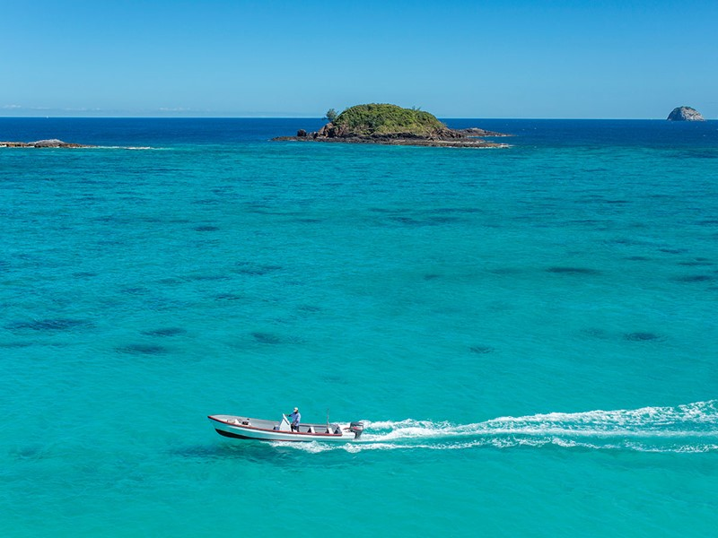 Activité nautique de l'hôtel Constance Tsarabanjina Madagascar