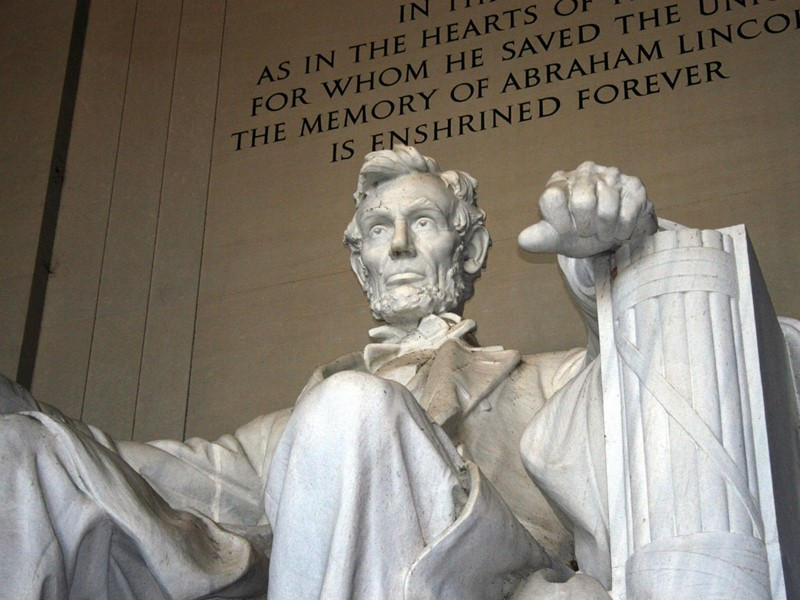 Le Lincoln Memorial, situé dans le National Mall de Washington