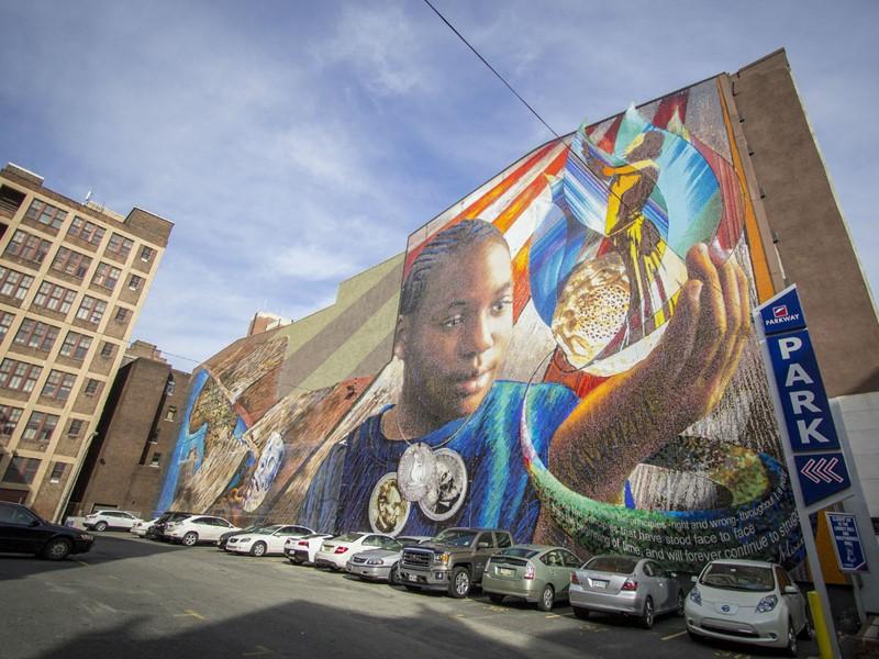 Street art à Philadelphie