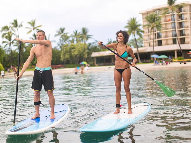 Paddle au Courtyard by Marriott King Kamehameha's Kona