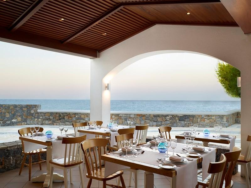 Plats Méditerranéens au restaurant Almyra
