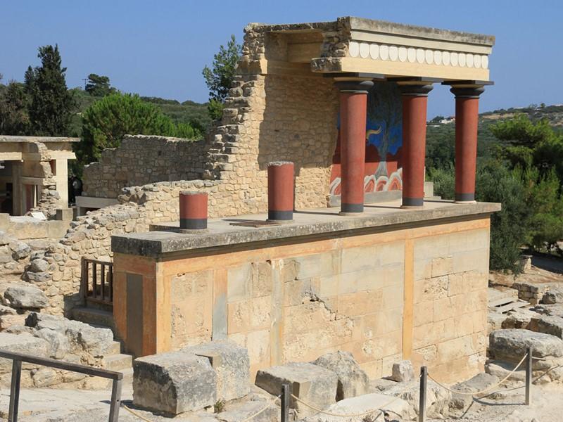 Visitez la vieille ville d'Héraklion et son musée archéologique