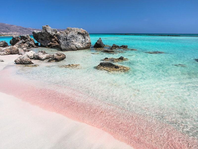Explorez le sud-ouest de l'île et la plage d'Elafonissi