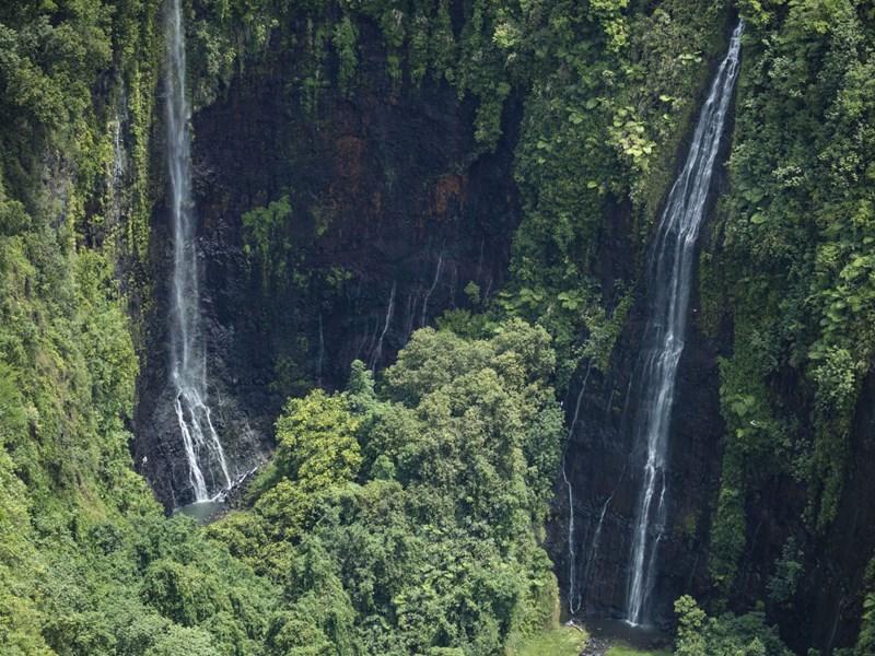 Les cascades de Tahiti