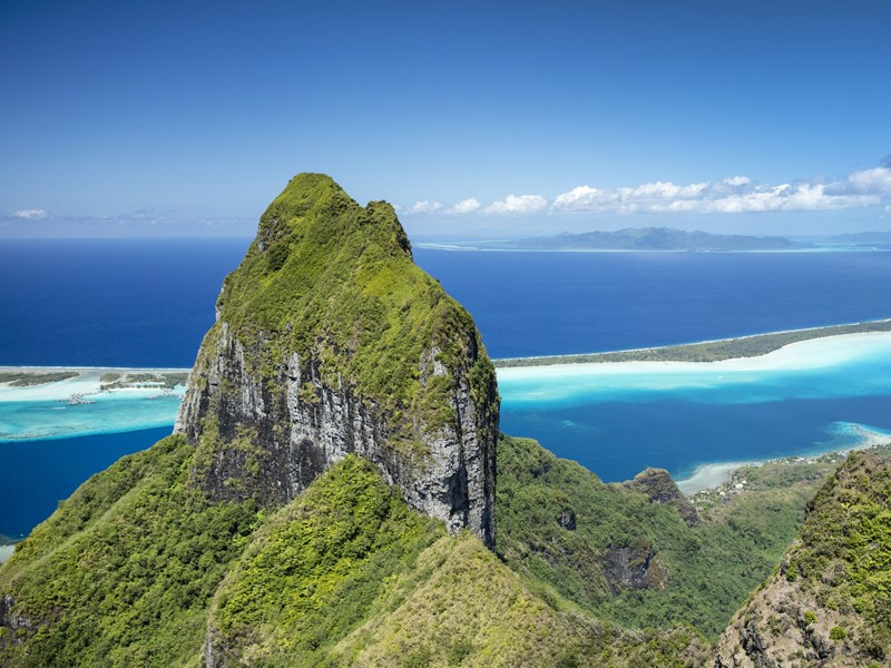 Découvrez les charmes naturels de Bora Bora
