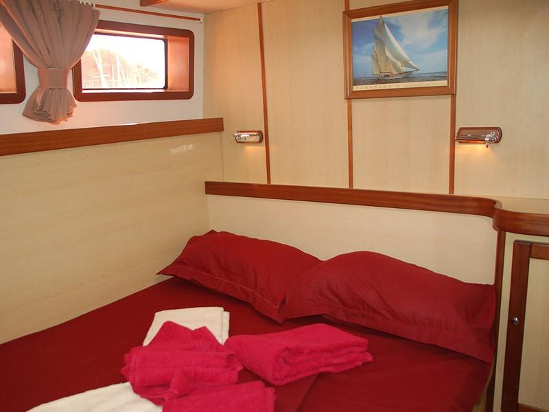 Le Mojito 82 vous propose des superbes cabines, idéales pour vous relaxer
