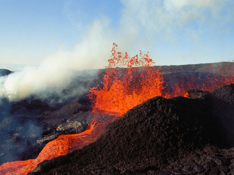 Le Mauna Loa, le plus grand volcan sur terre