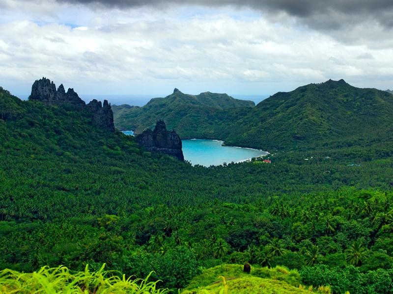 L'île de Nuku Hiva