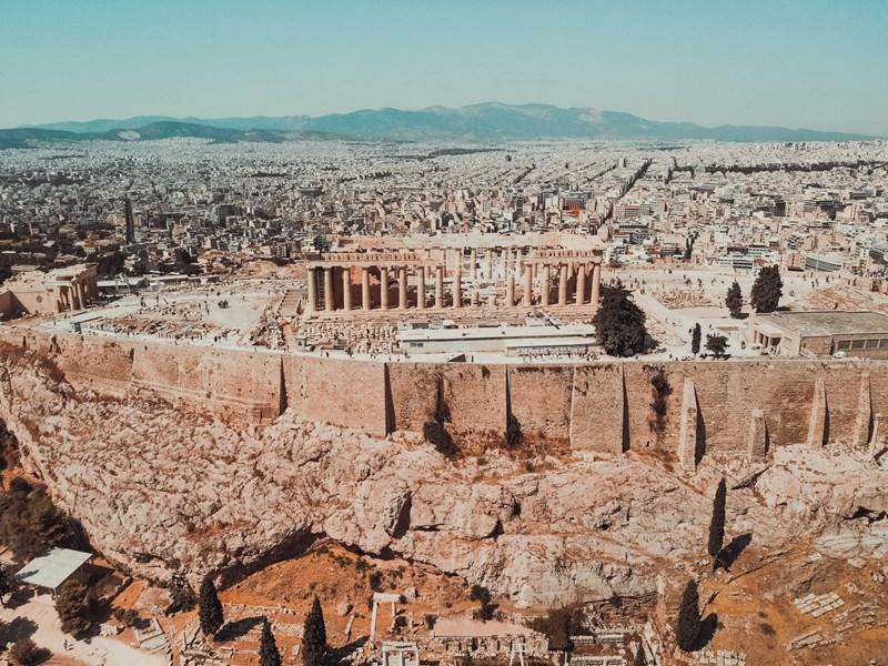 Découvrez les ruines d'Athènes