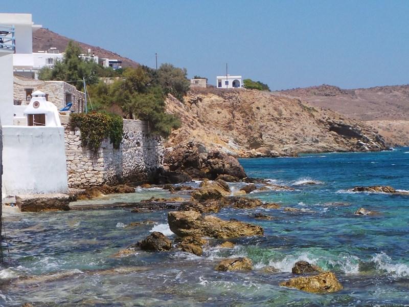 La côte de Paros