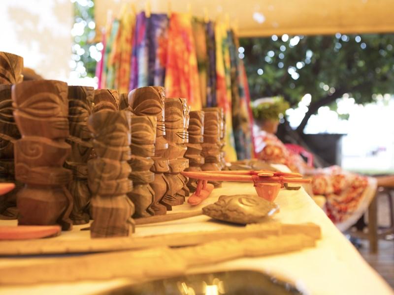 Découvrez l'artisanat local de Papeete