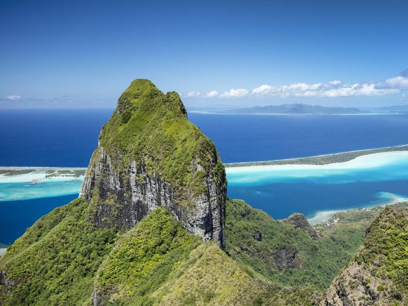 Nature exubérante de Bora Bora